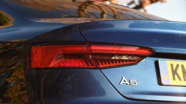 Audi A5 - rear light detail