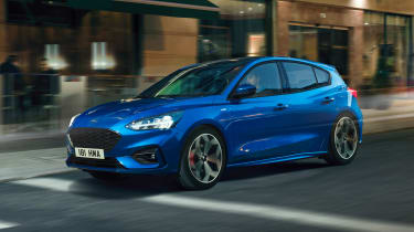 Ford Focus ST-Line - front tracking