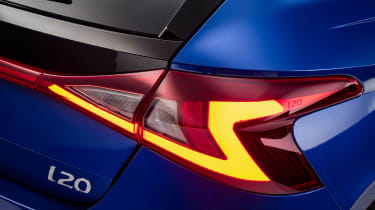 Hyundai i20 - rear light