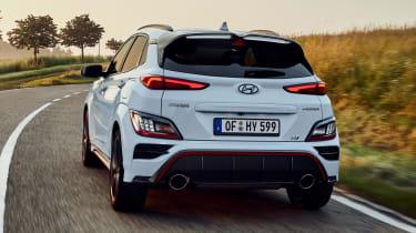 Hyundai Kona N - rear cornering