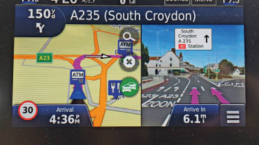 Honda CR-V: long-term test - navigation screen
