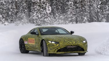 Aston Martin Vantage prototype - front