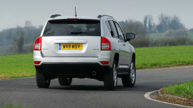 The Compass has styling that might not suit some people, but on the other hand some people will love it.