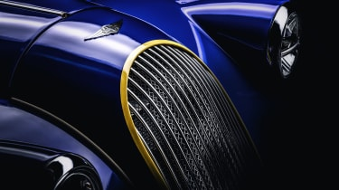 Morgan Plus 8 50th Anniversary Edition - grille