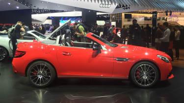 Mercedes SLC - side show