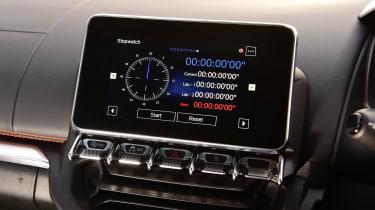Alpine A110 S - lap timer