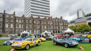 London Concours classic cars