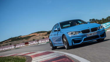 BMW M3 saloon 2014 front