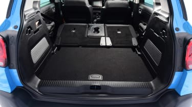 Citroen C3 Aircross - boot seats down