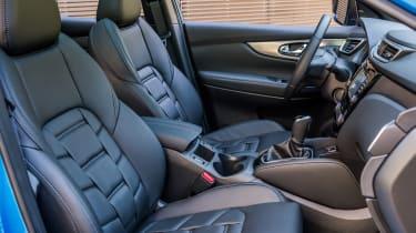New Nissan Qashqai 2017 review seats