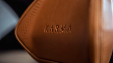 Karma SC2 concept - seat detail