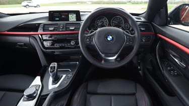 BMW 4 Series Gran Coupe - dash