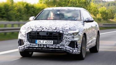 Audi Q8 ride review - front