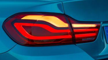 BMW 4 Series facelift 2017 - rear light