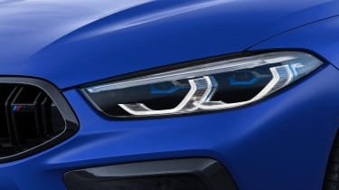 BMW M8 Competition - front lights
