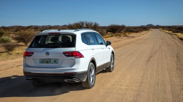 Volkswagen Tiguan LWB prototype - rear tracking