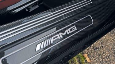 Mercedes SLS AMG Roadster badge