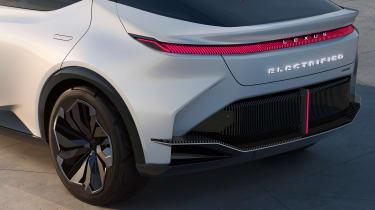Lexus LF-Z Electrified concept - rear lights
