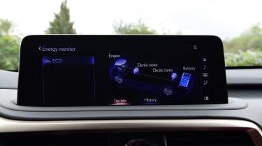 Lexus 450h F Sport - hybrid system