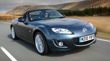 Best cheap convertibles - Mazda MX-5