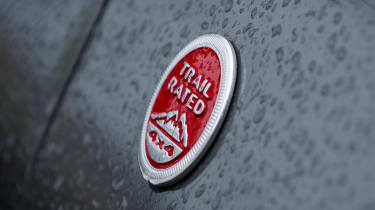 Jeep Compass Trailhawk - Trail Rated badge