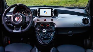 Fiat 500 Google - dash