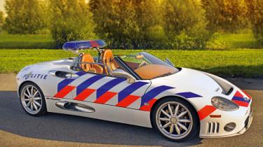 Spyker Police car