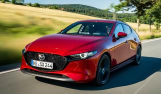 Mazda 3 SkyActiv-X - front