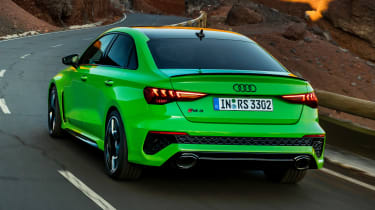 Audi RS 3 Saloon - rear