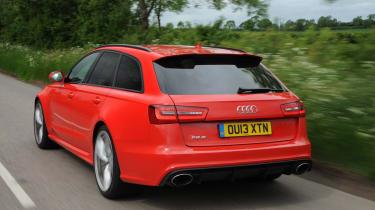 Audi RS6 Avant rear view