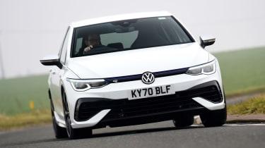 Volkswagen Golf R - front action
