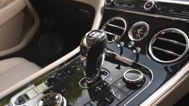 Bentley Continental GT - gearstick