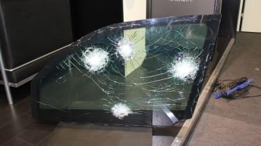 Toyota Land Cruiser armoured glass