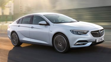 New Vauxhall Insignia Grand Sport - front tracking