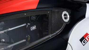 Toyota GR Supra concept window