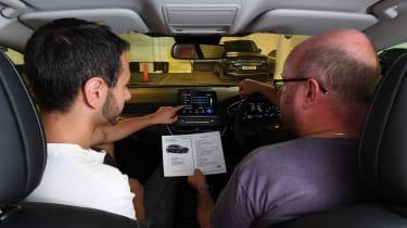 Ford Focus long termer - interior