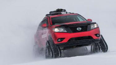 Nissan Winter Warrior concept - front three quarters