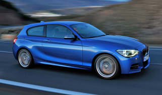 BMW M135i Three-door front tracking