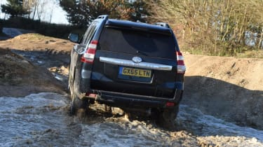 Used Toyota Land Cruiser - rear off-road