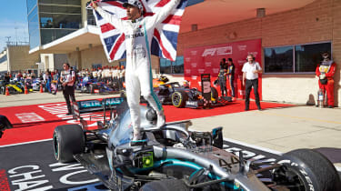 Lewis Hamilton - motorsport review 2019