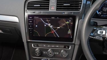 Long-term test - VW e-golf - infotainment