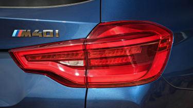 BMW X3 M40i - rear light detail