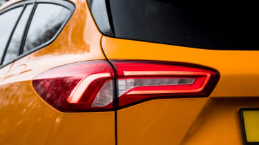 Ford Focus ST Estate: long-term test review  - first report - rear light