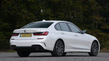 BMW 330e - rear static