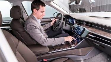 New Audi A6 - studio Lawrence Allan interior