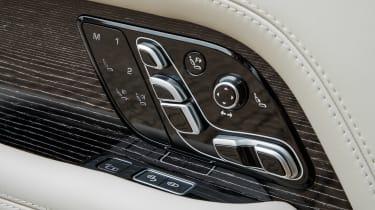 Range Rover PHEV - seat details