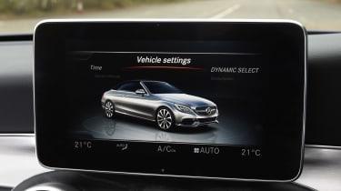 Mercedes C-Class Cabriolet - drive select