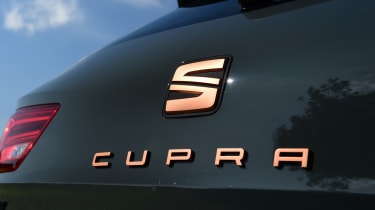 SEAT Leon Cupra R ST ABT - boot badge