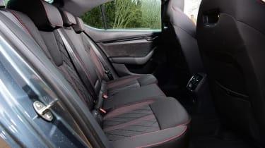 Skoda Octavia vRS - rear seats