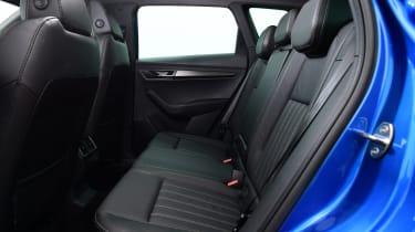 Skoda Karoq - rear seats